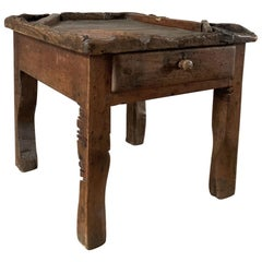 19th Century Cobblers Table Sidetable