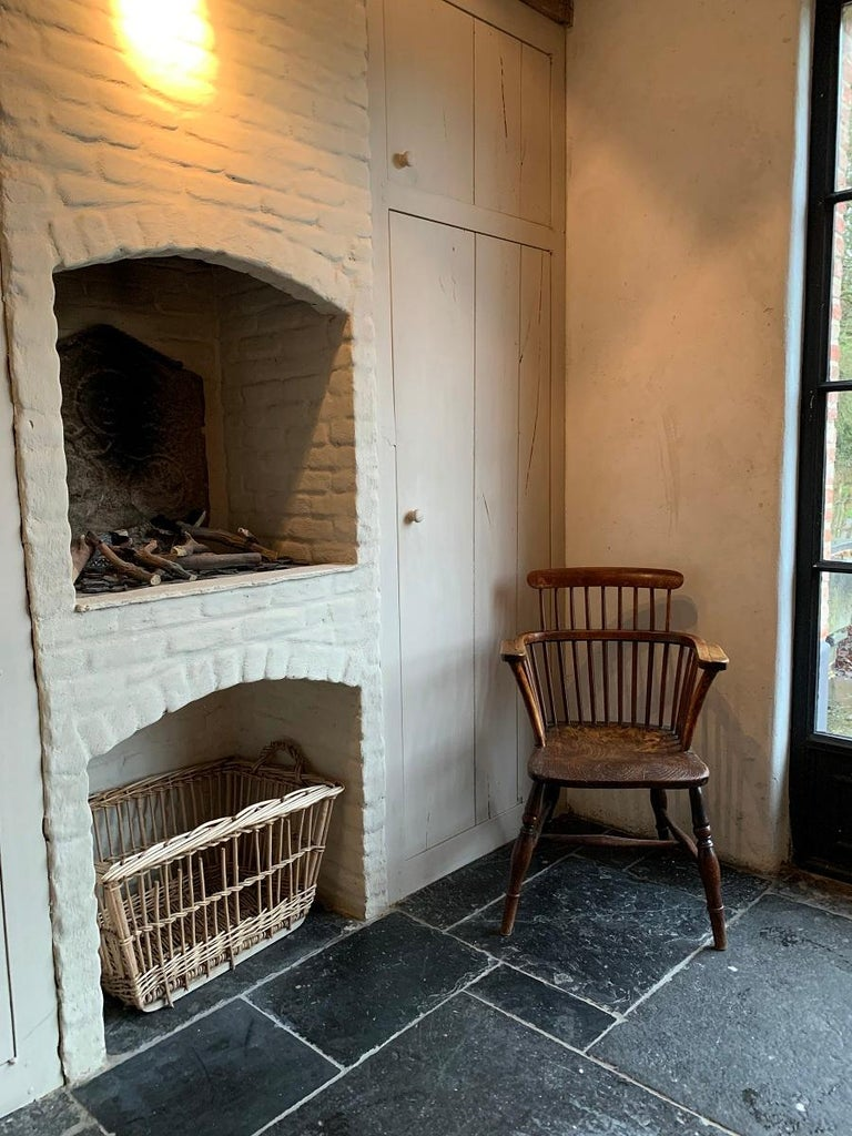 19th Century Comb Back Windsor Chair In Good Condition For Sale In Vosselaar, BE
