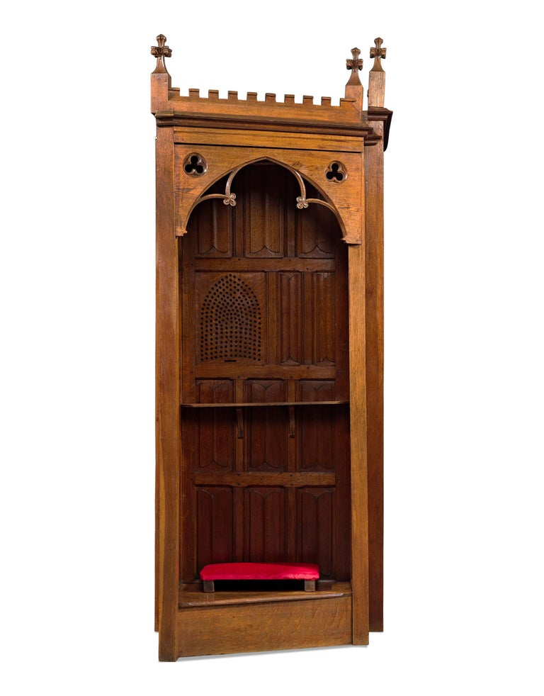 English 19th Century Confessional For Sale
