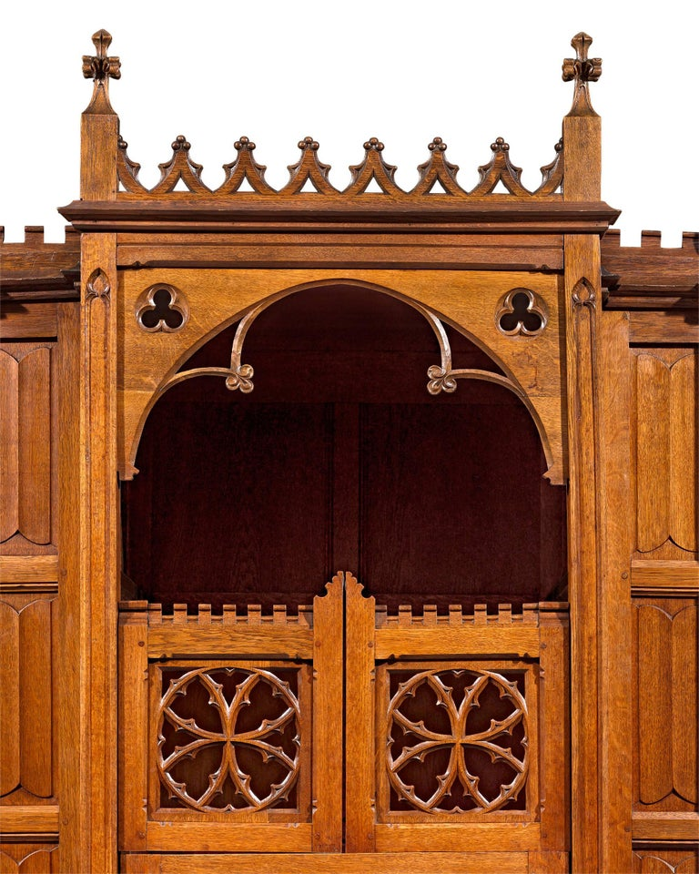 19th Century Confessional In Excellent Condition For Sale In New Orleans, LA