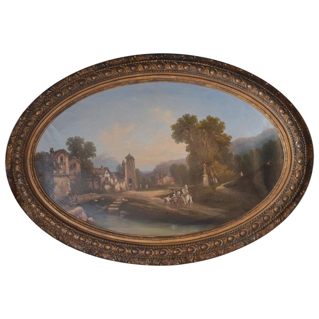 19th Century Continental School Painting