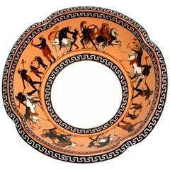 "19th Century Copeland Greek/Roman Revival ""Elgin"" Pattern Pedestal Bowl"