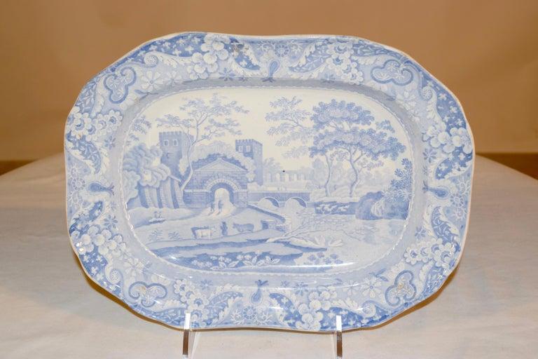 Victorian 19th Century Copeland Spode Platter For Sale