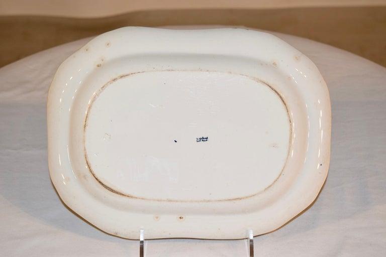 English 19th Century Copeland Spode Platter For Sale