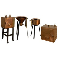 19th Century Copper Distillery Set
