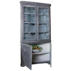 19th Century Corner Cabinet, Cupboard, English, Kitchen Cupboard Pantry Cupboard