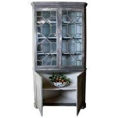 19th Century Corner Cabinet, Cupboard, English, Kitchen Cupboard, Pantry