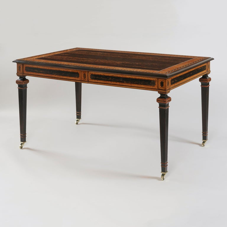 A magnificent library table 