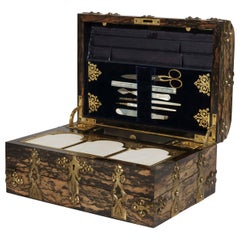 19th Century Coromandel Writing and Stationary Box by Howell, James & Co