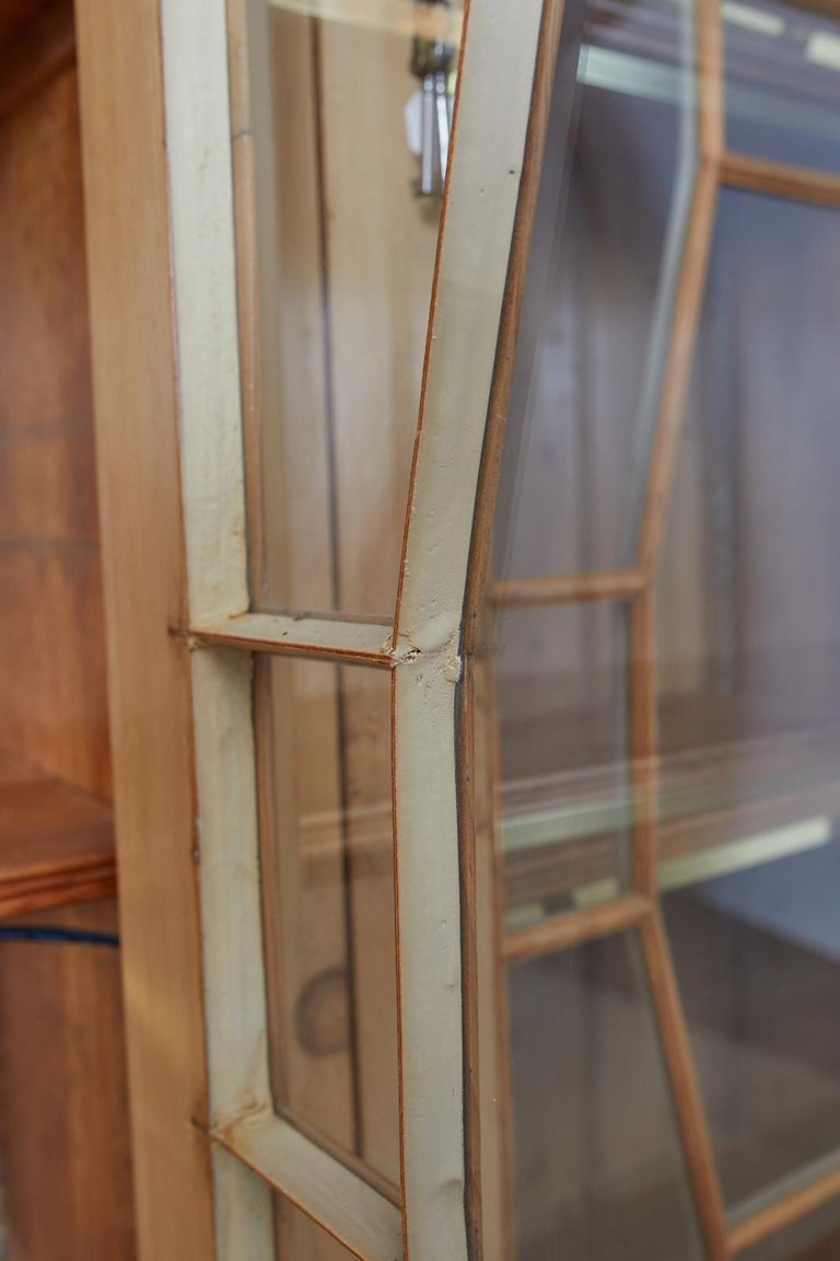 Country English Pine Library Bookcase Cabinet  6