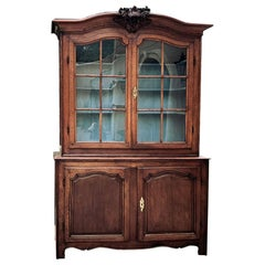 18th Century Country French Bookcase, Bibliotheque