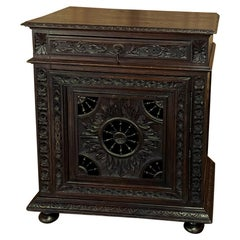 19th Century Country French Brittany Confiturier ~ Cabinet