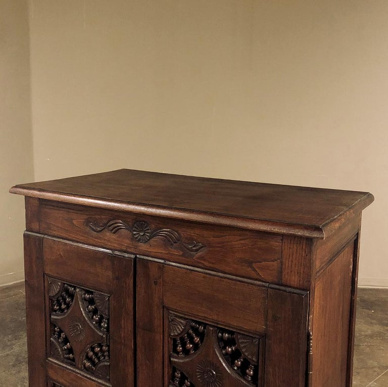 19th Century Country French Garde Manger, Cabinet from Brittany For Sale 2
