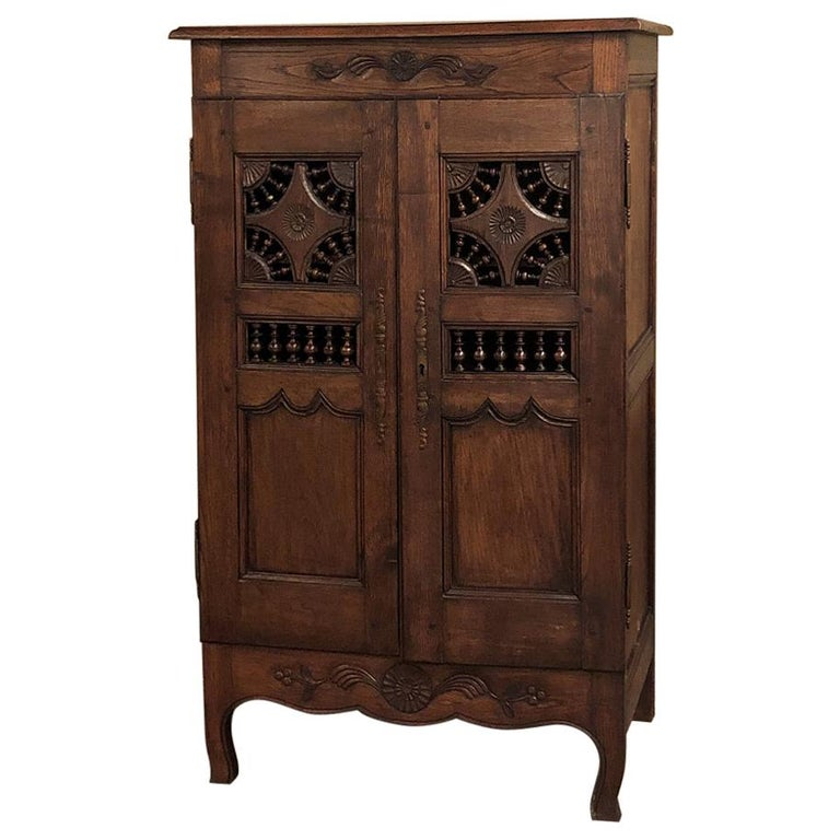 19th Century Country French Garde Manger, Cabinet from Brittany For Sale