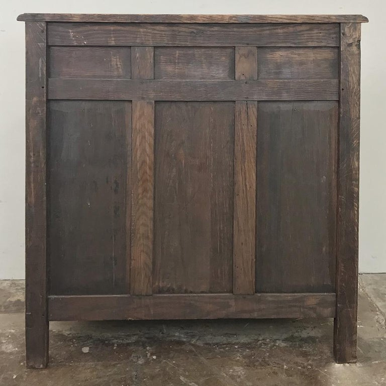 19th Century Country French Provincial Stripped Oak Secretary For Sale 7