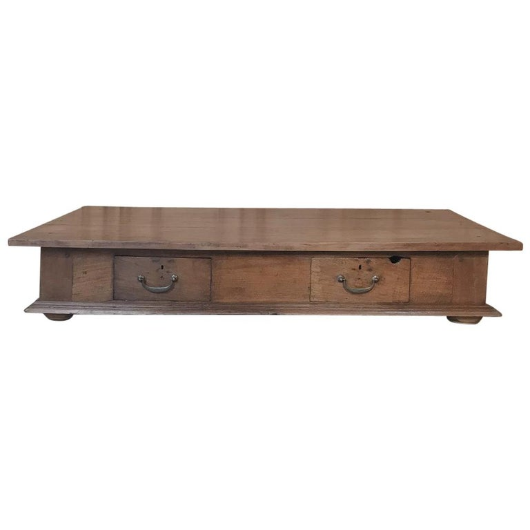 19th Century Country French Rustic Coffee Table For Sale At 1stdibs
