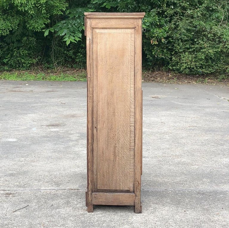 19th Century Country French Rustic Stripped Secretary 5
