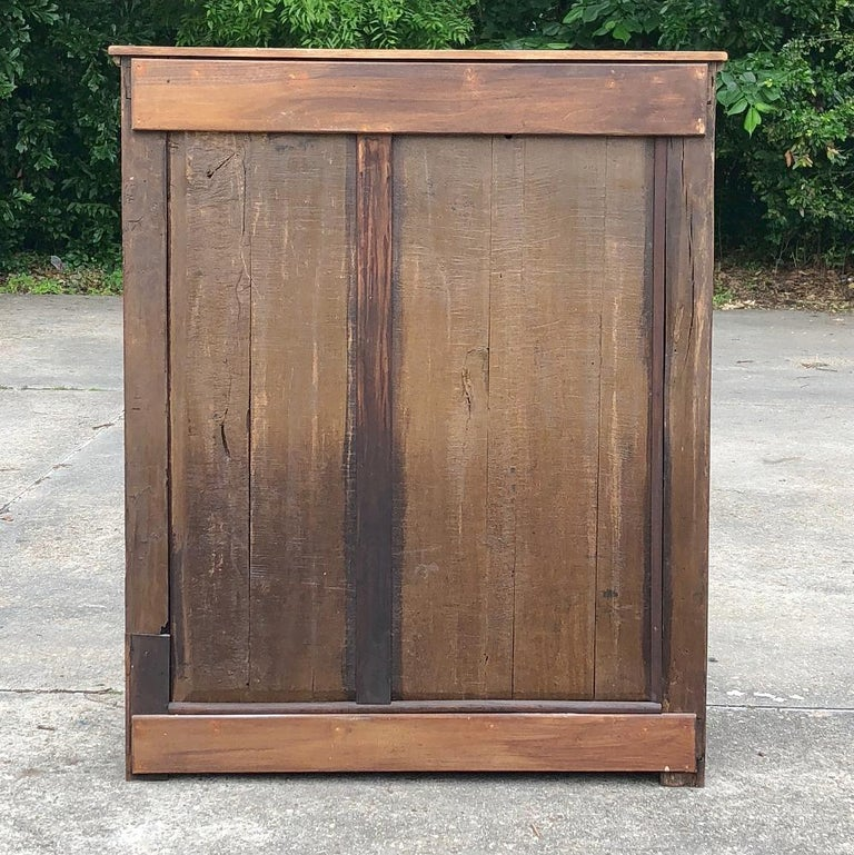19th Century Country French Rustic Stripped Secretary 6