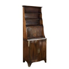 19th Century Country French Walnut Cabinet