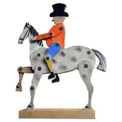 19th Century Crandalls John Gilpin Toy