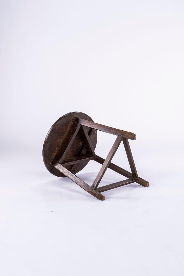 Wood 19th Century Cricket Table For Sale