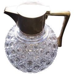 19th Century Cut Glass Crystal Pitcher