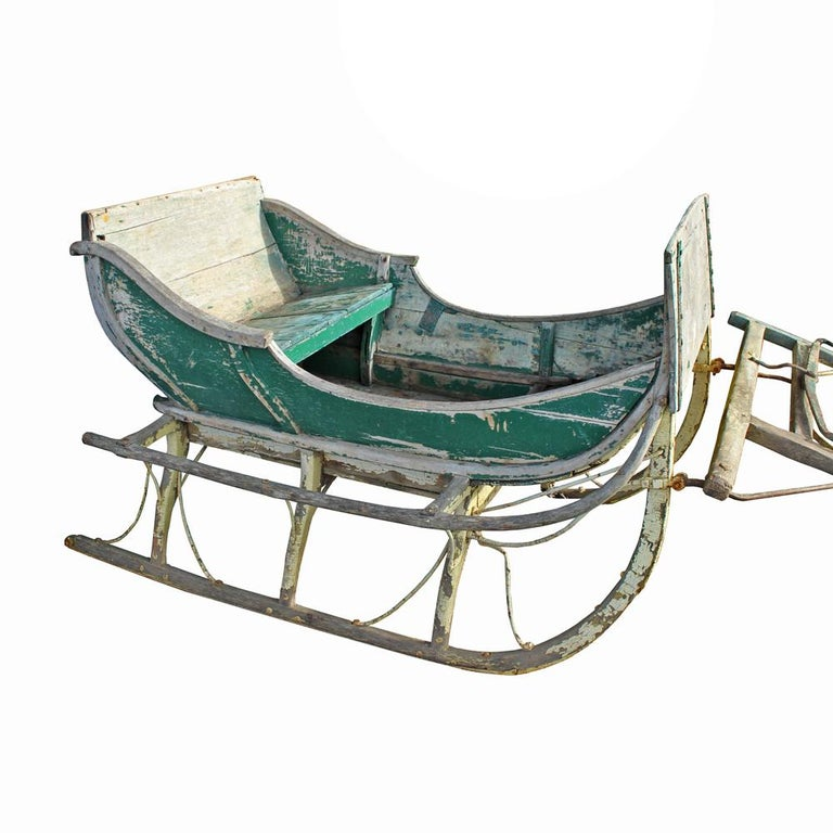 Victorian 19th Century Cutter Sleigh For Sale