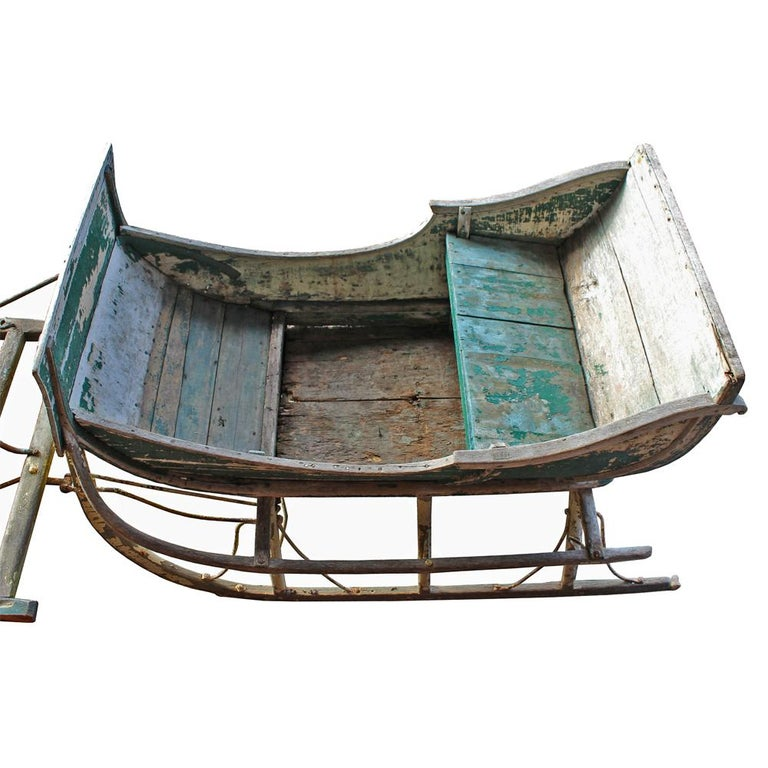 19th Century Cutter Sleigh For Sale 1