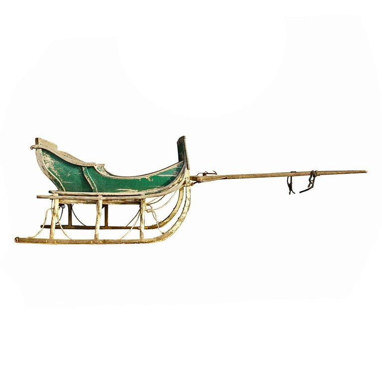 19th Century Cutter Sleigh For Sale 2