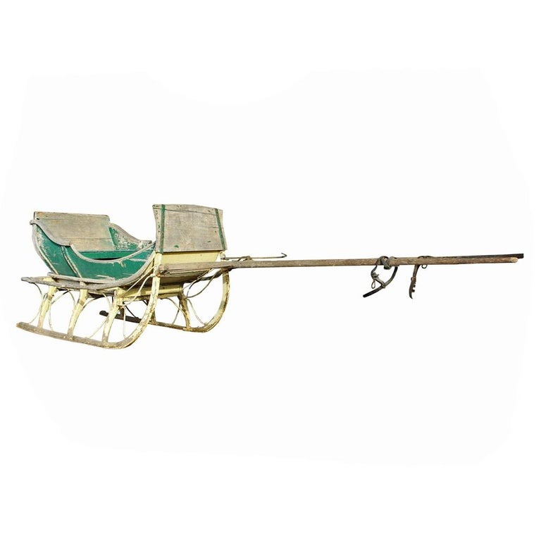 19th Century Cutter Sleigh For Sale