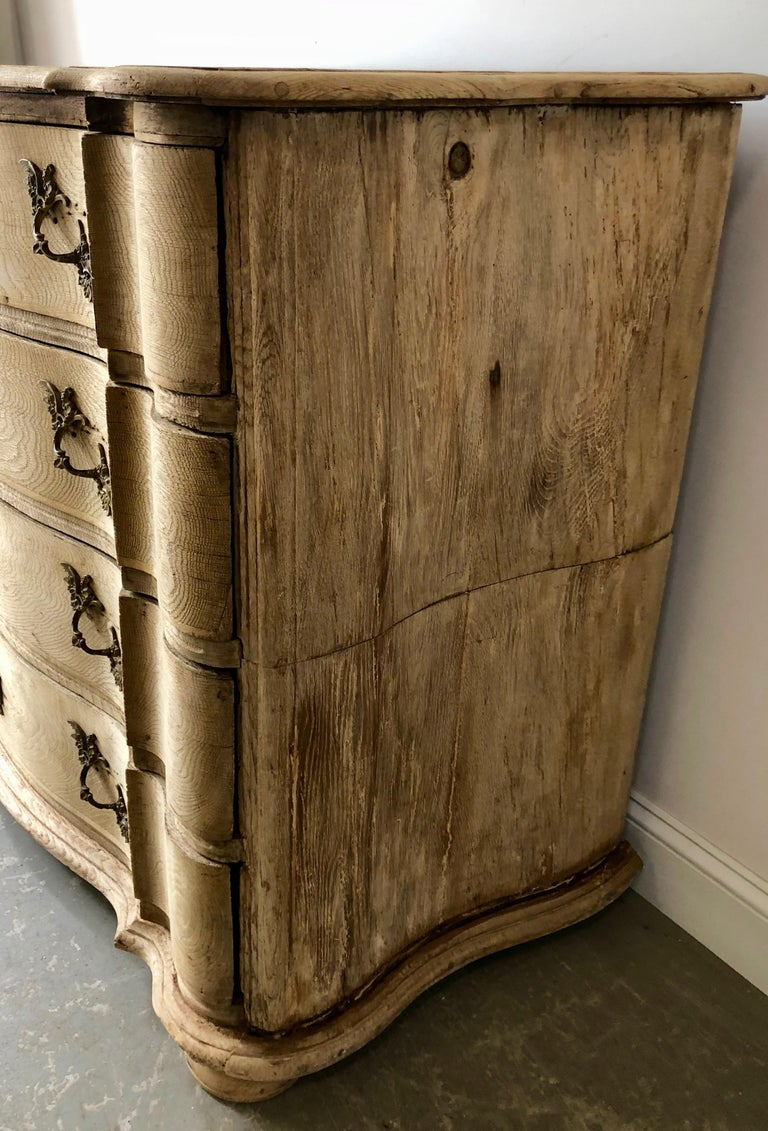 Bronze 19th Century Danish Chest of Drawers For Sale