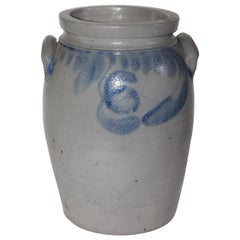 19th Century Decorated Crock From Pennsylvania