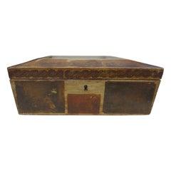 19th Century Decoupage Box
