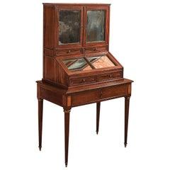 19th Century Desk, Antique Bonheur du Jour, Gamichon a Paris