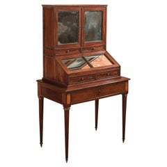 19th Century Desk, Antique Bonheur du Jour, Gamichon a Paris