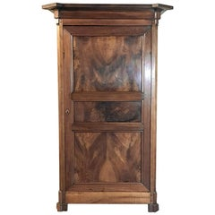 19th Century Directoire Period Walnut Bonnetiere