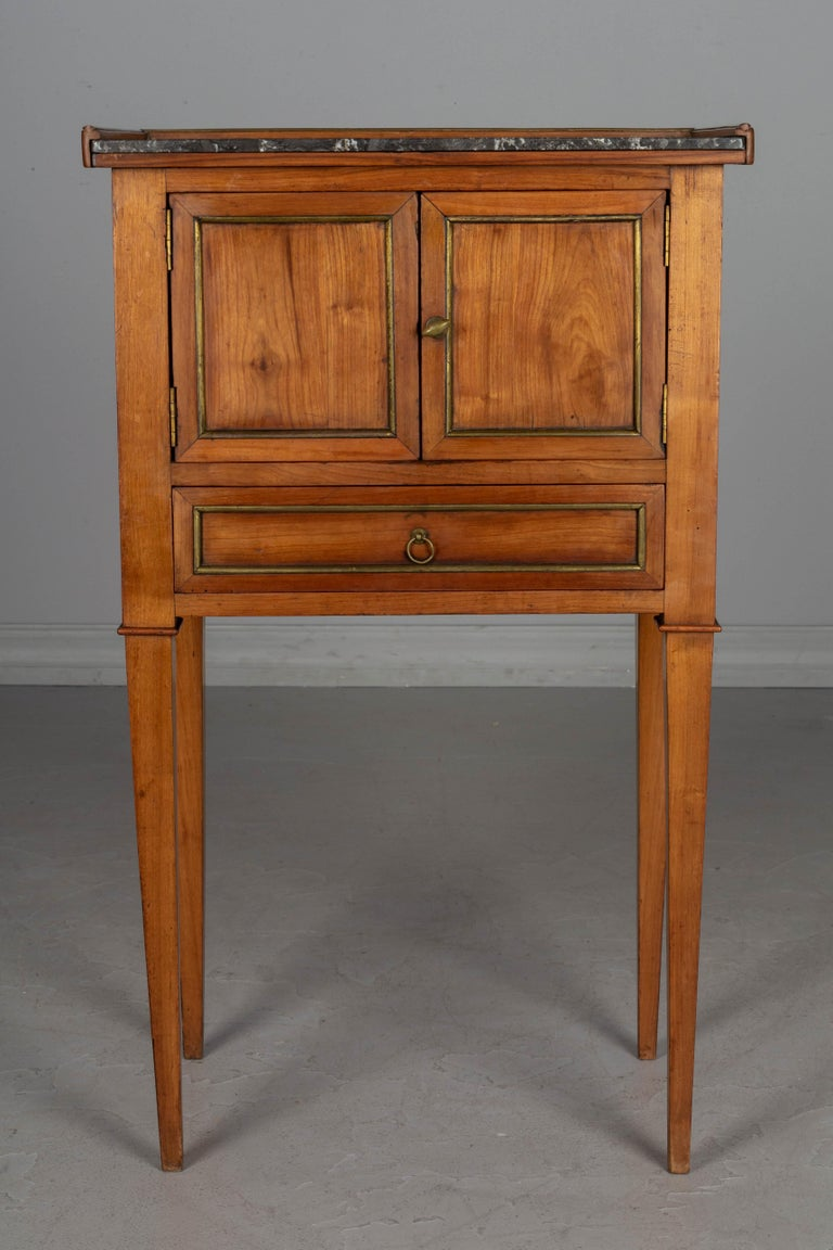 Hand-Crafted 19th Century Directoire Style French Side Table For Sale