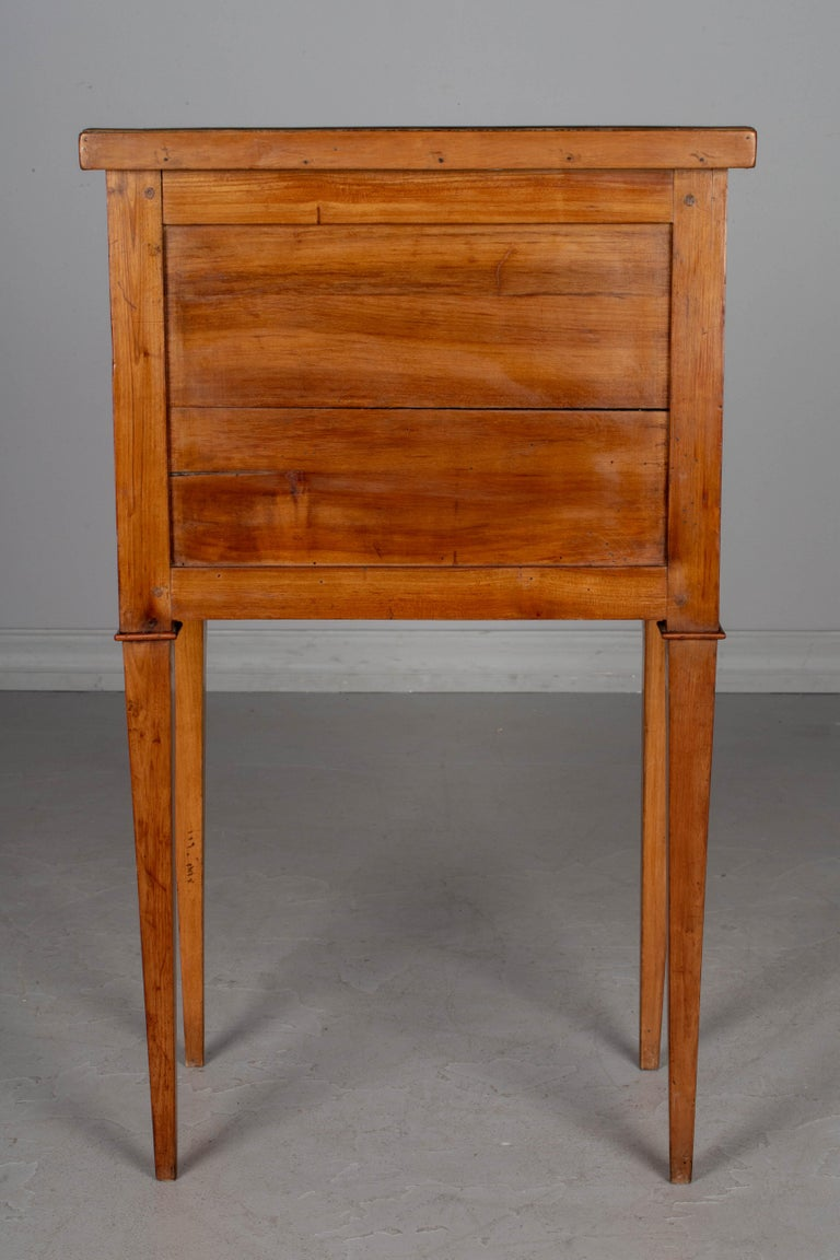Cherry 19th Century Directoire Style French Side Table For Sale