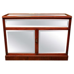 19th Century Display Case in Mahogany