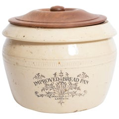 19th Century Doulton Pottery Crock