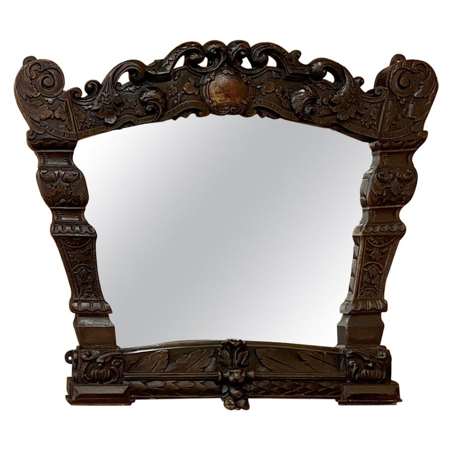 19th Century Dutch Baroque Mirror