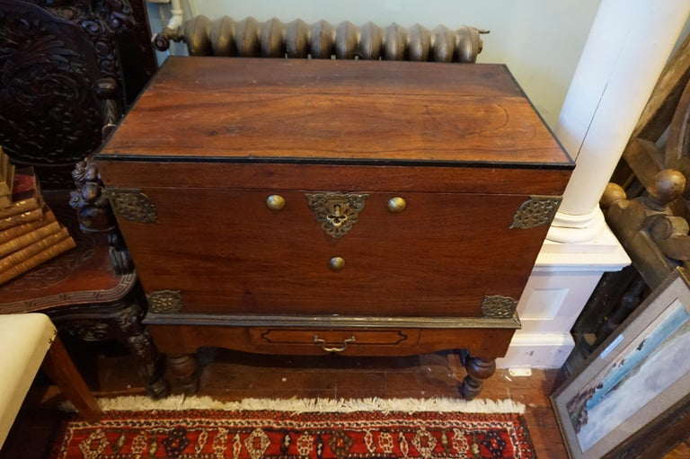 Dutch Colonial mahogany chest.