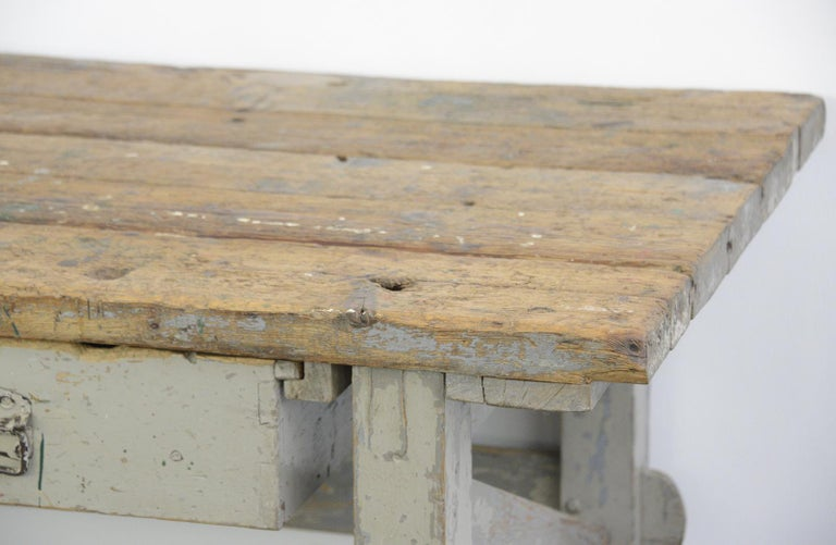 Late 19th Century 19th Century Dutch Farm Workbench For Sale