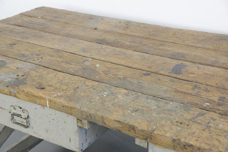 19th Century Dutch Farm Workbench For Sale 1