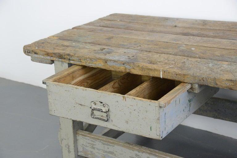 19th Century Dutch Farm Workbench For Sale 3