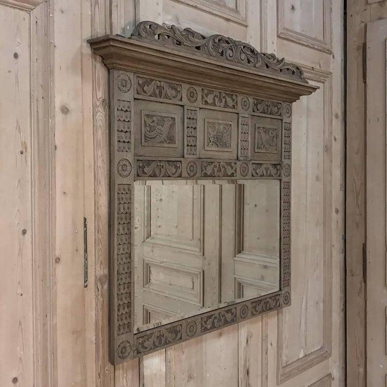 19th Century Dutch Renaissance Mirror At 1stdibs