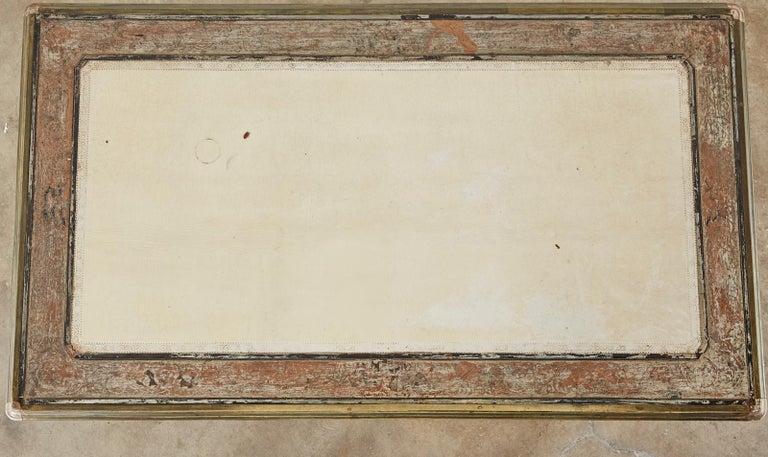 19th Century E. Khan and Cie Louis XV Bureau Plat Desk For Sale 3