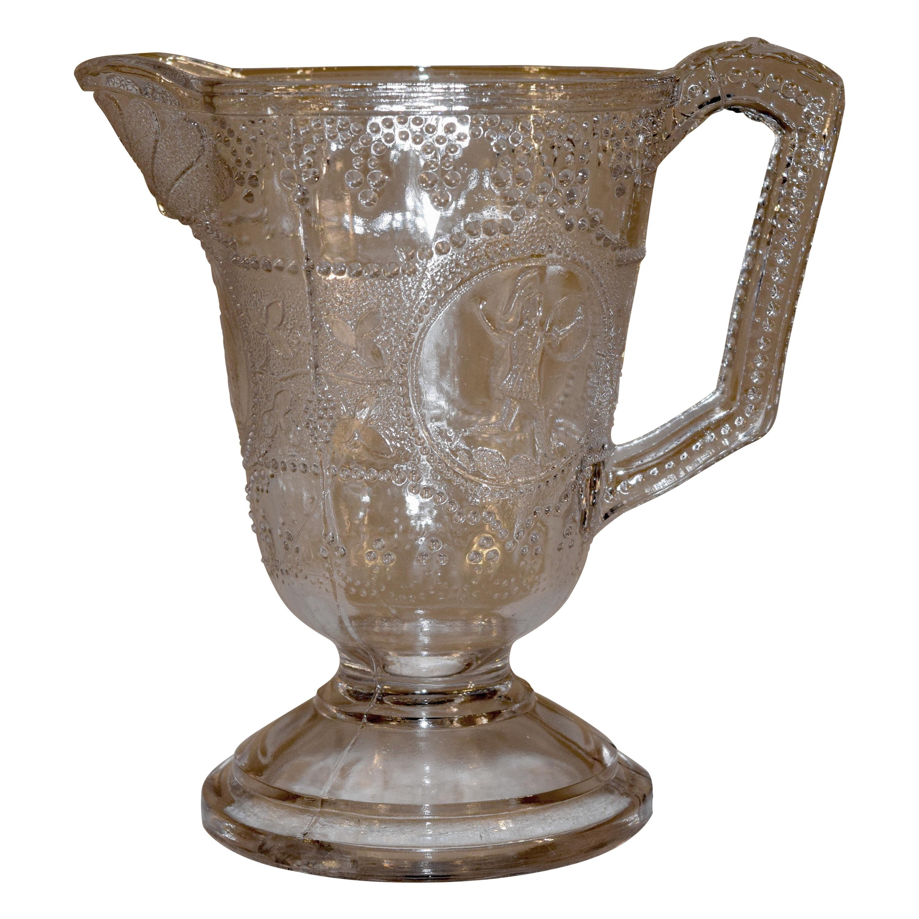 19th Century EAPG Pitcher