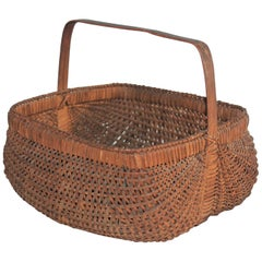 19th Century Early Tight Buttocks Basket