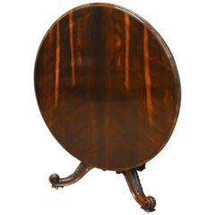 19th Century Early Victorian Rosewood Circular Breakfast Table
